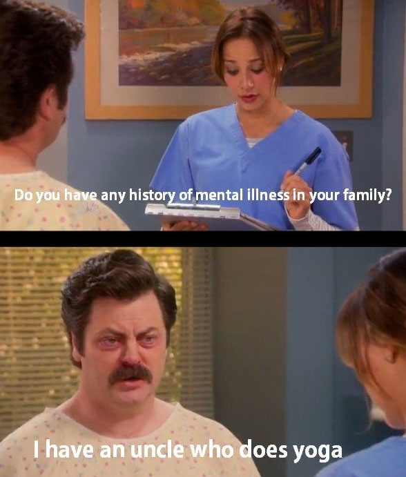 ron-swanson-mental-illness