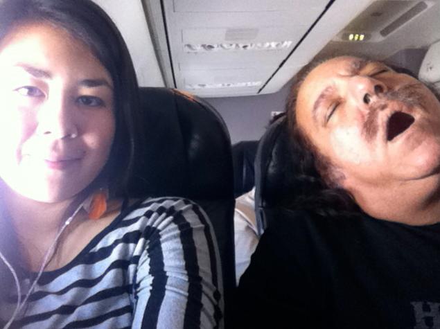 ron jeremy airplane