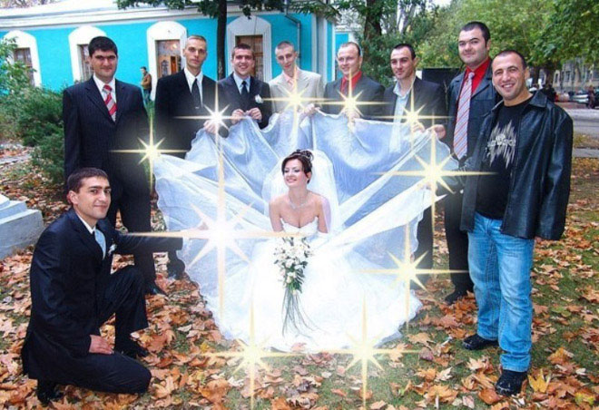 The 50 Most Absurd Russian Wedding Photos Ever Gallery Wwi