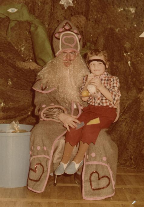 sketchy santa costume