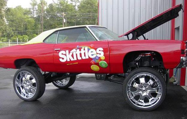 The 25 funniest pimped out rides ever worldwideinterweb skittles car voltagebd Gallery