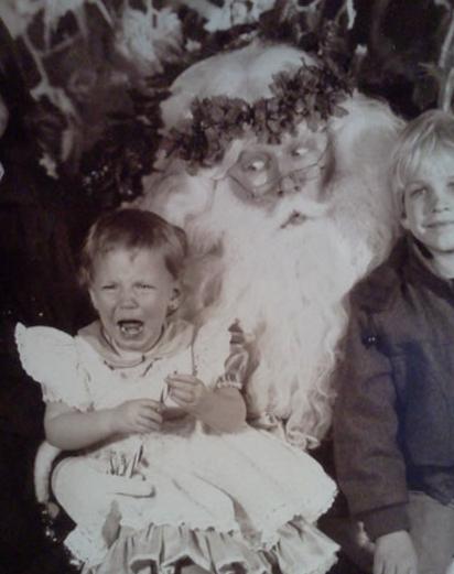 super creepy santa