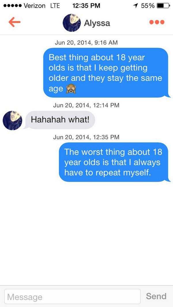tinder flirt