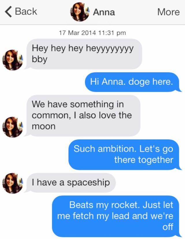 Funniest tinder conversations