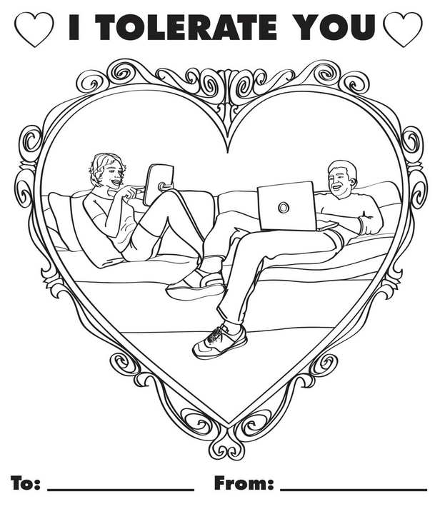 truthful valentines days cards
