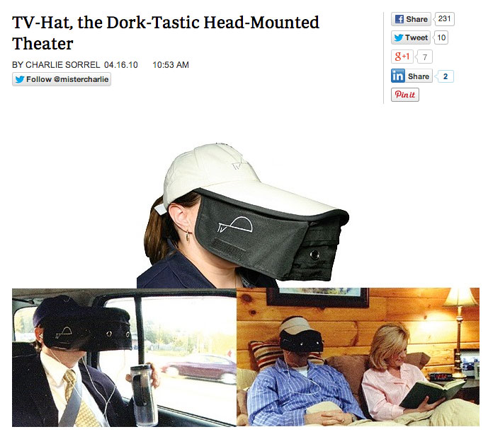 Letting Product Speak For Itself >> The 20 Dumbest Products Ever Made | WorldWideInterweb