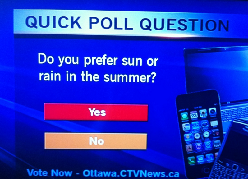 tv poll fail