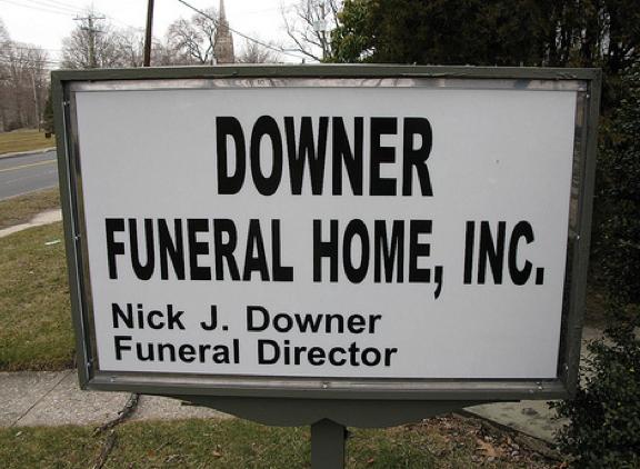 unfortunate funeral home names