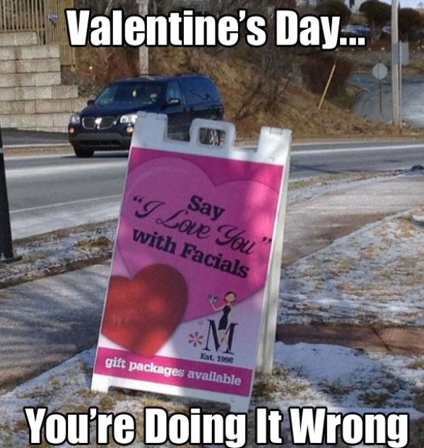 valentines fail