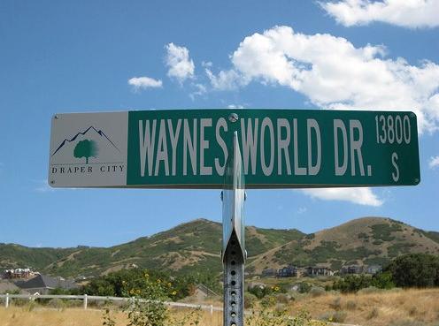 waynes world drive