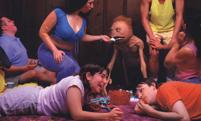 weird alien photo