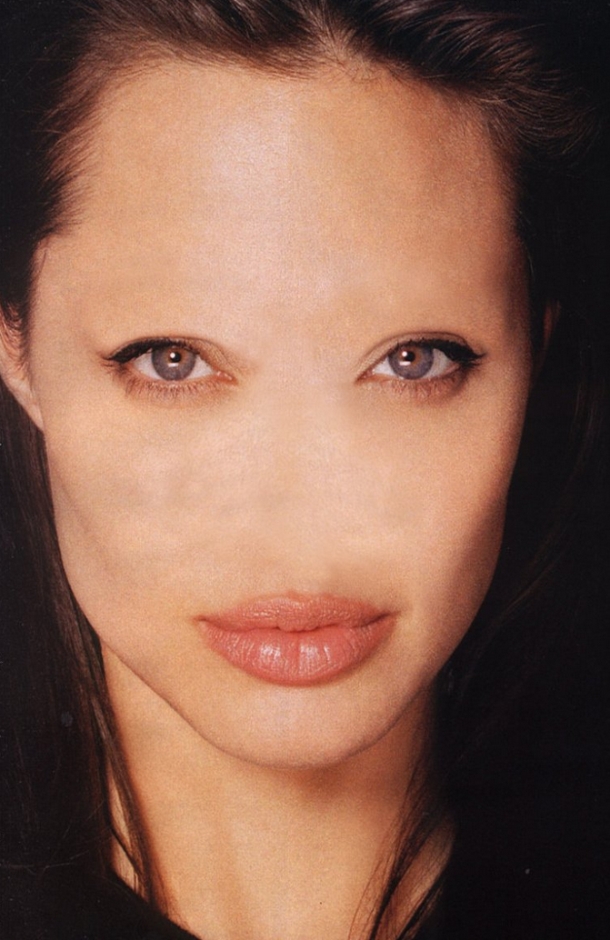 Celebrities Without Noses And Eyebrows