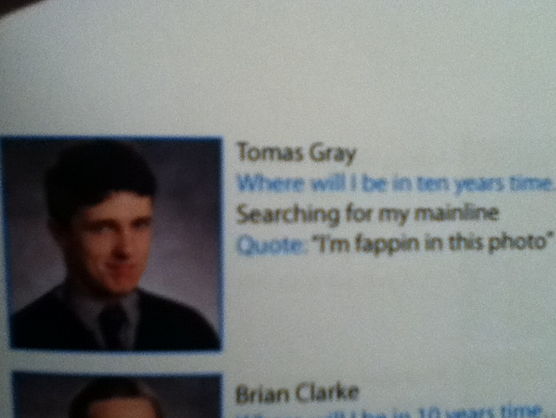 The 100 Funniest Yearbook Quotes Ever Gallery