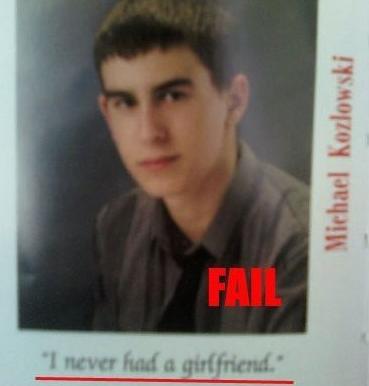 yearbook quote virgin