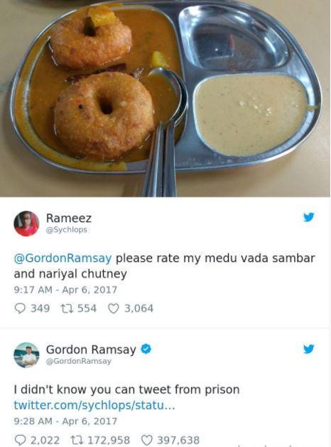 Gordon Ramsay Is A Hot Dog A Sandwhich