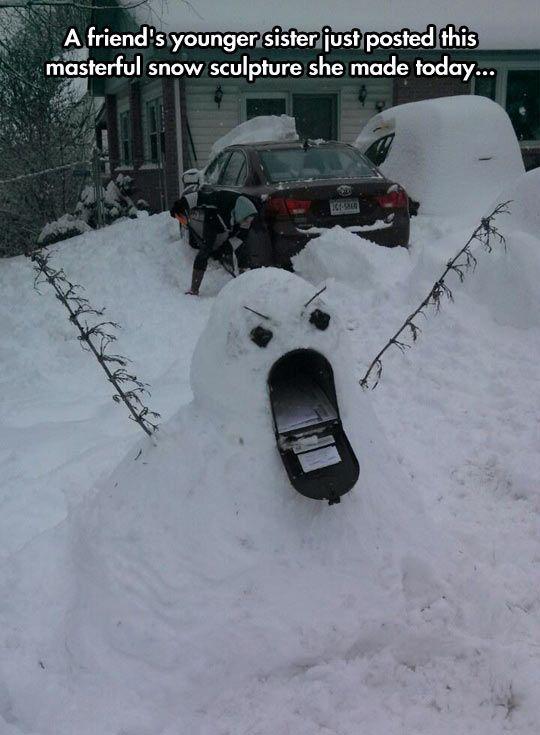 the 50 funniest snow sculptures of all time worldwideinterweb