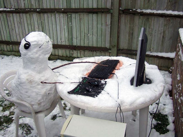 Image result for gaming snowman