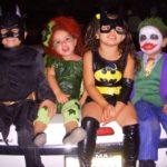 kids dressed as batman work harder