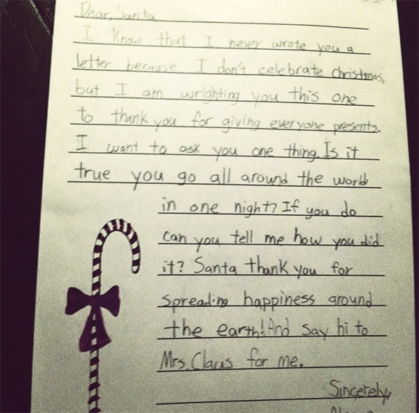 Funny Santa Letters From Kids (GALLERY