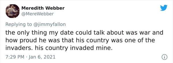 #worst first date