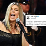 Fergie's All Star Game National Anthem