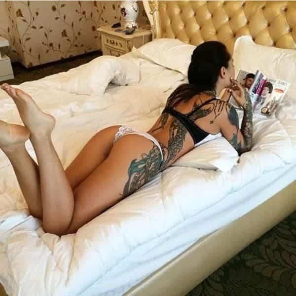 tattoo models female, sexy tattoo models