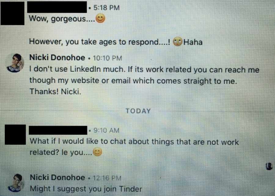 can you use linkedin for dating