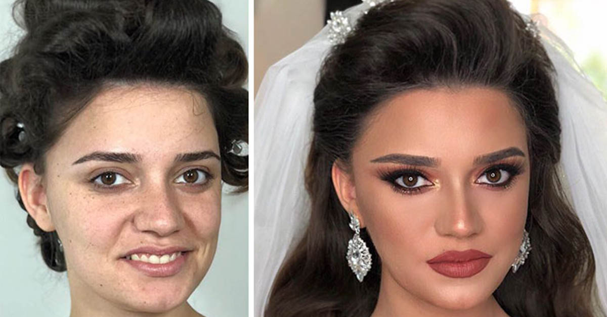11 Stunning Photos Of Brides Before And