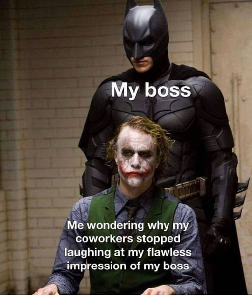 boss impression meme batman funny