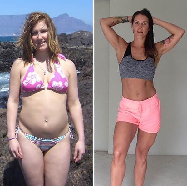 Same weight different size women, body transformations, weight loss goals, body goals, looking good, feeling good, dieting, exercise, same weight different size body transformations