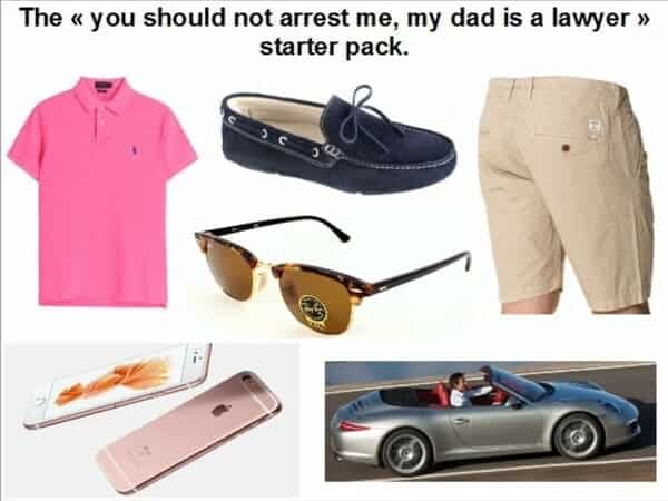 my dad is a lawyer starter pack