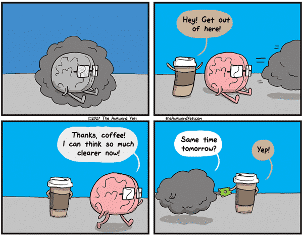 funniest coffee cartoon