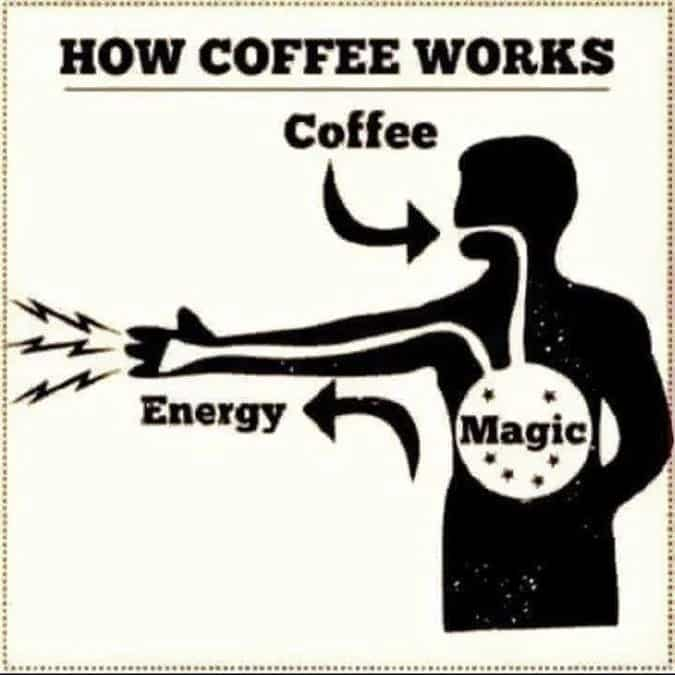 funny coffee magic meme