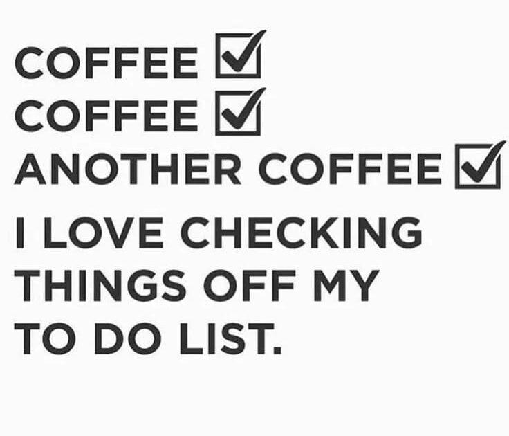coffee checklist meme