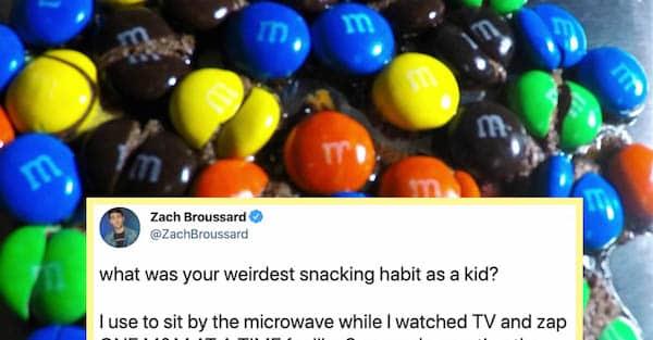 weirdest habit snacking