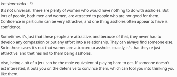women like jerks