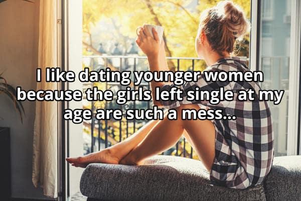 men dating younger women